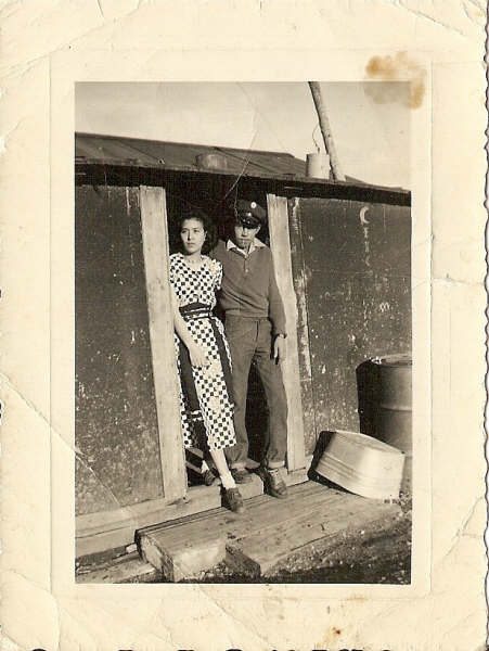 Sophie Lee and Benny Hensley Sr