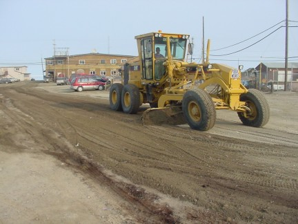 Grading between Second and Shore Avenues