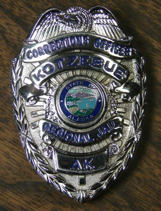 retired Corrections Badge 2010
